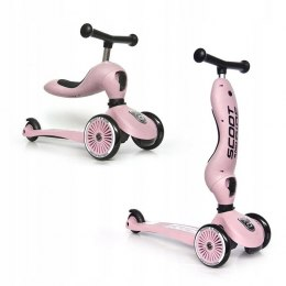 SCOOTANDRIDE Hulajnoga HighWayKick 2w1 - rose
