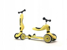 SCOOTANDRIDE Hulajnoga Highwaykick 1 2w1 - lemon