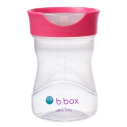 B.box Kubek treningowy 240 ml do picia malinowy