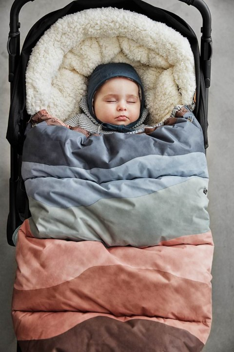 Elodie Details - Czapka Winter Bonnet - Juniper Blue - 3-6 m-cy